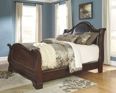 Series Name Flemingsburg Item Queen Uph Sleigh Headboard Model Bedsbedroom Setsmaster