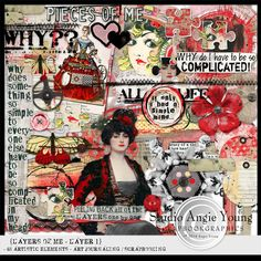 Layers Of Me - Layer 1 :Studio  Angie Young http://shop.scrapbookgraphics.com/Layers-Of-Me-Layer-1.html