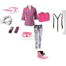 pink nerd fashion