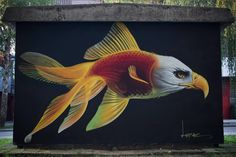 Lonac New Mural In Zagreb, Croatia StreetArtNews // #StreetArt #Croatia #Mural