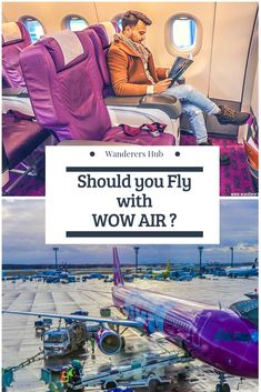 Should you fly with WOW Air or not? We flew from Frankfurt to Iceland recently with WOW Air and here's our verdict. You will like to know about the meal plan, baggage policy, crew, etc. Travel Reviews, Travel Articles, Travel Advice, Travel Guides, Travel Tips, Travel Hacks, Airline Reviews, Budget Travel, Top Travel Destinations