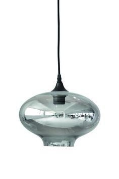 Oval glass lamp - Niittylä Home