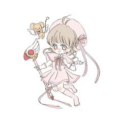 Clear Card, Cute Icons, Cartoon Characters, Twitter Sign Up, Chibi, Doodles, Shit Happens, Drawings, Cardcaptor Sakura
