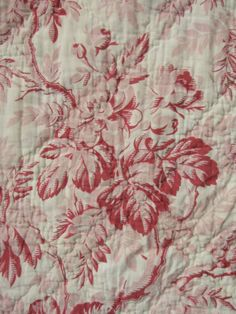 Cosy worn French quilt
