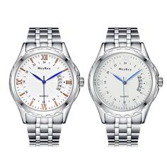 >> Click to Buy << New Brand Quartz Lovers Watch Couple Wristwatch Men Women Watches Stainless Steel Strap Calendar Bracelet relogio masculino #Affiliate