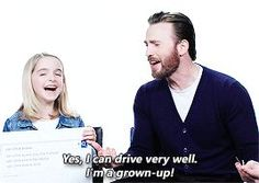 Chris Evans passionately defending his driving skills