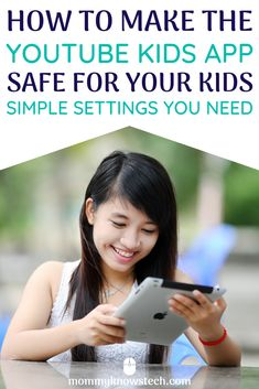 There's an awful lot of crazy stuff on YouTube--and even YouTube Kidts   lets inappropriate content through the filters. Here are the simple   steps you need to make screen time with the YouTube Kids app safe for   your kids. Internet Safety For Kids, Indoor Activities For Kids, Stem Activities, Cyber Safety, Rules For Kids, Parenting Done Right, Computer Security, Kids Online, Raising Kids