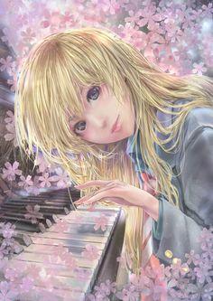 Beneath the Tangles - beautiful anime girl art