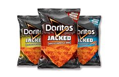 New Doritos Jacked. Designed by PepsiCo's Frito-Lay division In partnership with Hornall Anderson.