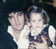My girl ... Elvis with Lisa Marie Presley