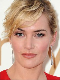 DIY! Celeb Hair and Makeup Looks to Try. Kate Winslet's look includes Avon  Magix essential face mattifier, Avon ultra luxury lip liner in neutral and Avon glaze wear lipgloss in clear. Shop this look at www.youravon.com/coloradoriver