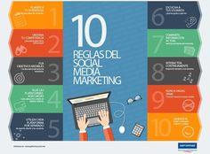 Las 10 reglas del Social Media Marketing - http://conecta2.cat/las-10-reglas-del-social-media-marketing/