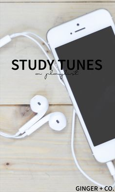 Study Tunes | Ginger + Co.