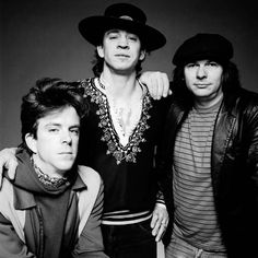 Stevie Ray Vaughn and Double Trouble (Chris Layton, Tommy Shannon). The pride and joy of Texas.....