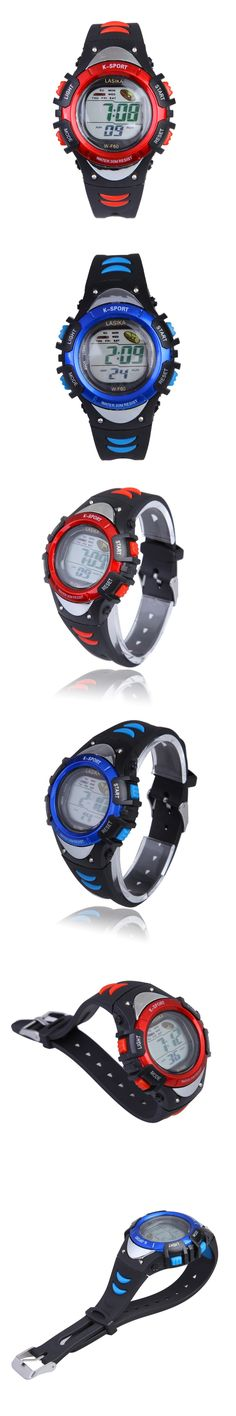 4 Colors New Casual Girls Boys Watch Digital Sports Kids Watches Waterproof Alarm wrist watch for men reloj hombre