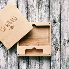 Set of 5 wooden boxes for USB and photo 4x6 10x15cm by MrPhoto2014