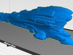 Eve Online - Gallente Titan Erebus | 3D Print Model