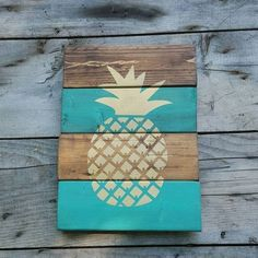 It can be either by printing, or painting mason jars, painting fresh pineapples, or by simply buying a piece... There are lots of idea that you will have to see in the following Wonderful Pineapple Decor Ideas That Will Steal The Show.