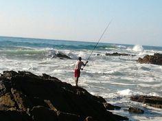 À pesca na Zambujeira do Mar, Alentejo Portugal