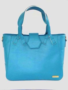 Mine&Hers Blue Bag. Made from Leather and blue color mood