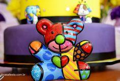 Chá de bebê inspirado na arte de Romero Britto - Crescer | Chá de bebê#foto-4#foto-4#foto-4#foto-4