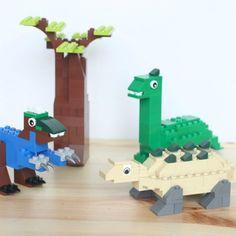 Dinosaur Lego Builds