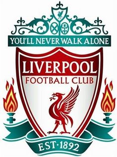 Liverpool soccer logo, in honor of my little brother, a goal-keeper in the making(: