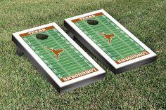 Texas Longhorns Cornhole Games