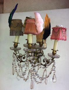 sophie-chandelier-pink shades