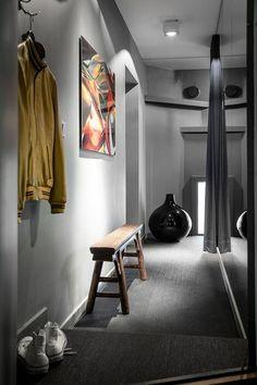 Темный интерьер в Швеции - Дизайн интерьеров | Идеи вашего дома | Lodgers