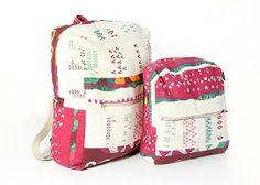 Nähanleitung für einen Rucksack für Kinder und für Erwachsene