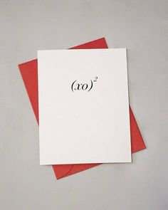 When a simple I Love You just wont do, you need our Positively Awesome math cards to let your honey know you love them exponentially. The card is an folded card (folded size: 4 x 5 cover weight. recycled with post-consumer Kiss Me Love, Love You, My Love, You Are Handsome, Math Puns, Love Cards, Diy Gifts, Unique Gifts, Anniversary Cards