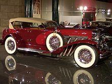 1935 Duesenberg SJ LaGrande Dual-Cowl Phaeton -Wikipedia