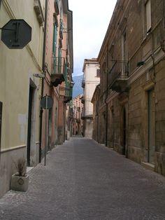 Street in Sulmona
