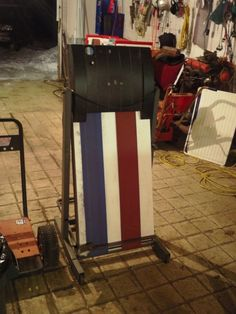 Treadmill Belt Sander by alwaysFlOoReD -- Homemade wood and metal belt sander adapted from a treadmill. A cover plate was fabricated to shield the electrical components from metal debris which might cause shorts. Utilizes off-the-shelf 6x89 abrasive belts. http://www.homemadetools.net/homemade-treadmill-belt-sander