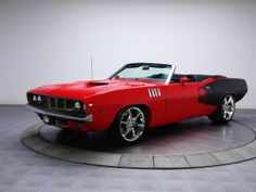 1971 Plymouth 'Cuda  Convertible