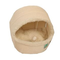 SODIAL(R) New Luxury Pet Dog Cat Tent House Cat Bed Puppy Bed >>> Trust me, this is great! Click the image. : Cat condo