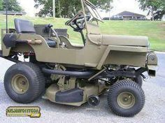 It's a lawn tractor