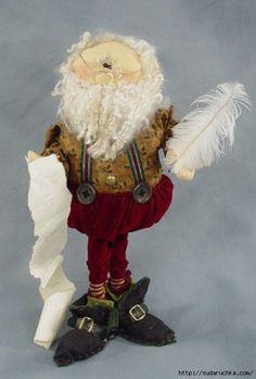 Санта Клаус .Текстильная кукла.Выкройка.. Обсуждение на LiveInternet - Российский Сервис Онлайн-Дневников