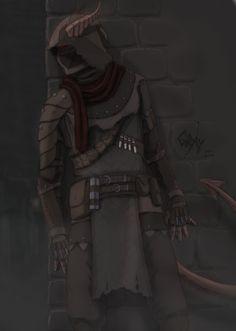 [ART][OC] Tiefling Rogue! : DnD