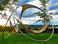 Infinity Hammocks - if we ever have our own backyard, this is like bringing a piece of the travels home!