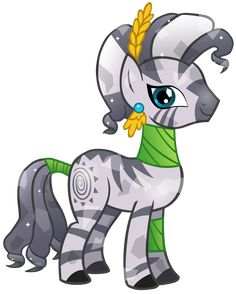 Crystal+Zecora+by+SilverMapWolf.deviantart.com+on+@deviantART