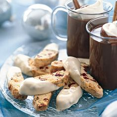Pistachio, Raspberry, and White Chocolate Biscotti: Recipe: bonappetit.com/dcc