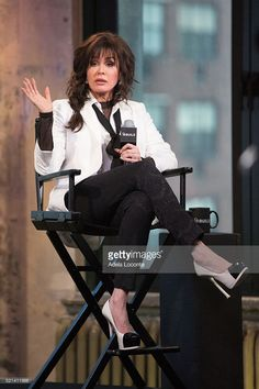 """Singer Marie Osmond discusses """"Music is Medicine"""" at AOL Studios In New York on April 2016 in New York City. Get premium, high resolution news photos at Getty Images Marie Osmond Hot, Donny Osmond, Stunningly Beautiful, Beautiful Women, L Love U, White Shirt Outfits, Osmond Family, The Osmonds, 50 And Fabulous"""