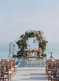Outdoor Wedding Ceremonies This Stunning Bali Wedding Might Just Be the Prettiest Thing We've Seen All Year - This jetsetting couple's wedding featured traditions from the U. and China, but the backdrop was pure Bali. Wedding Aisles, Wedding Ceremony Ideas, Outdoor Wedding Decorations, Bali Wedding, Aisle Decorations, Wedding Ceremonies, Wedding Photos, Arch Wedding, Ivory Wedding