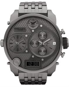 Diesel DZ7247 SBA GUNMETAL XXL. I like the gray color!