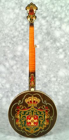 Fancy Florentine Gibson Banjo from earnestbanjo.com.  This is an exception because it's so cool.