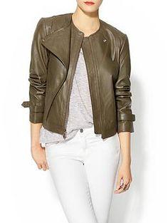 Jenni Kayne Leather Moto Jacket | Piperlime