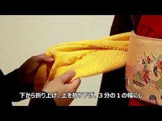 帯締め結び方アレンジ☆ - YouTube