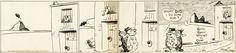 Original Comic Art:Comic Strip Art, George Herriman Krazy Kat Daily Comic Strip Original Artdated 1-26-38 (King Features Syndicate, 1938)....